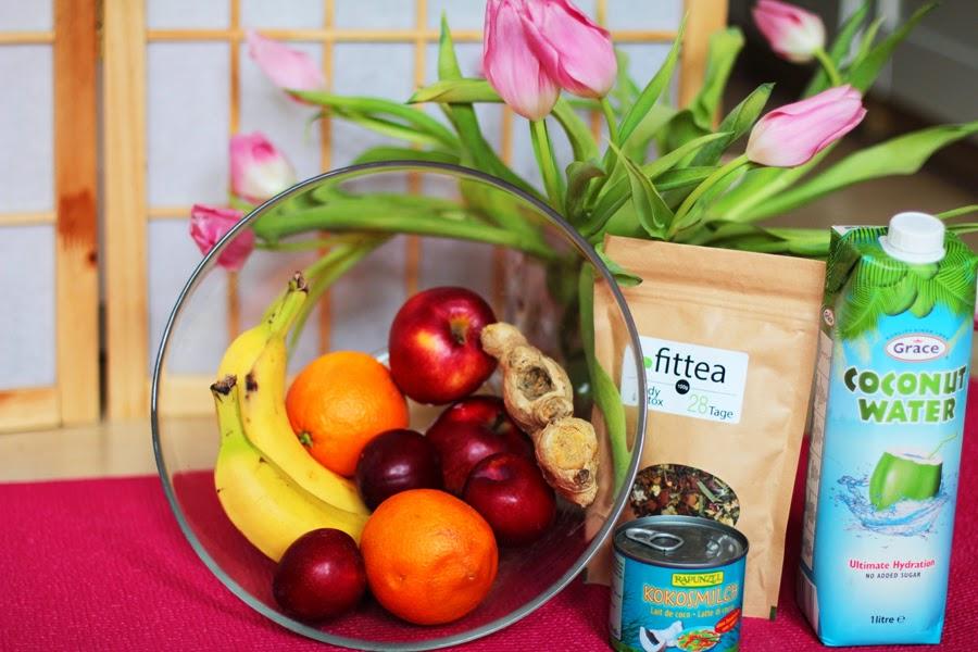 fit tea coconut water obst schüssel myberlinfashion cookwithmemonday