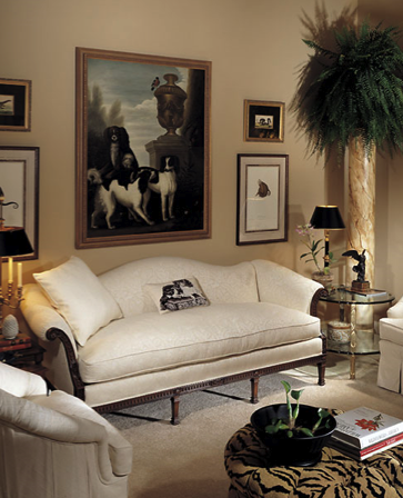 Eye For Design Decorating With Camelback Sofas