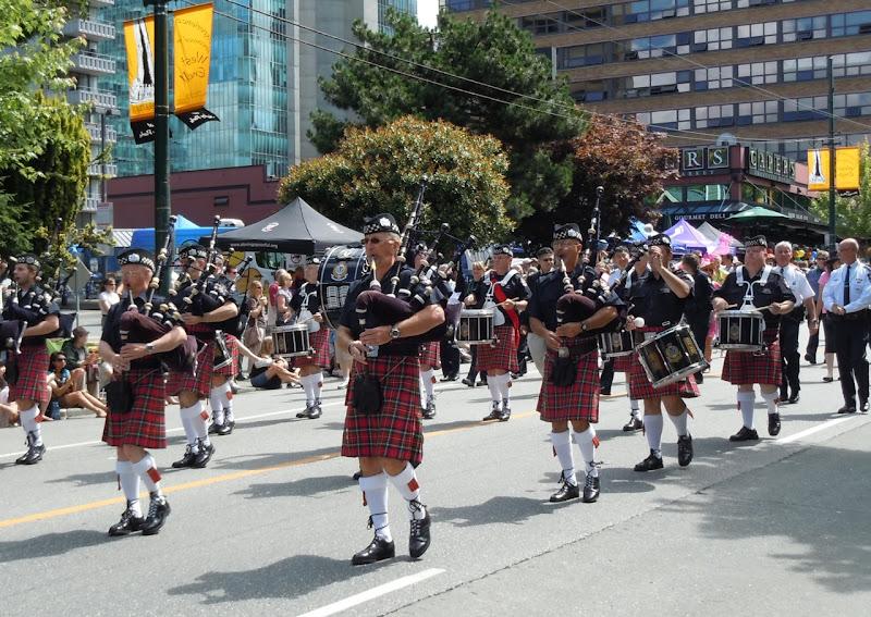 Bagpipes Vancouver Pride Parade