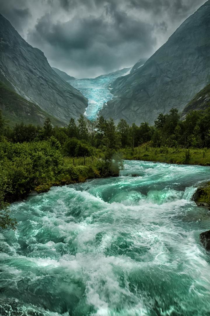 Briksdalsbreen, Norway
