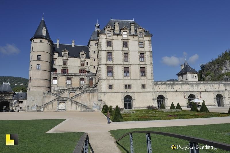 accès au parc du château de Vizille photo blachier pascal
