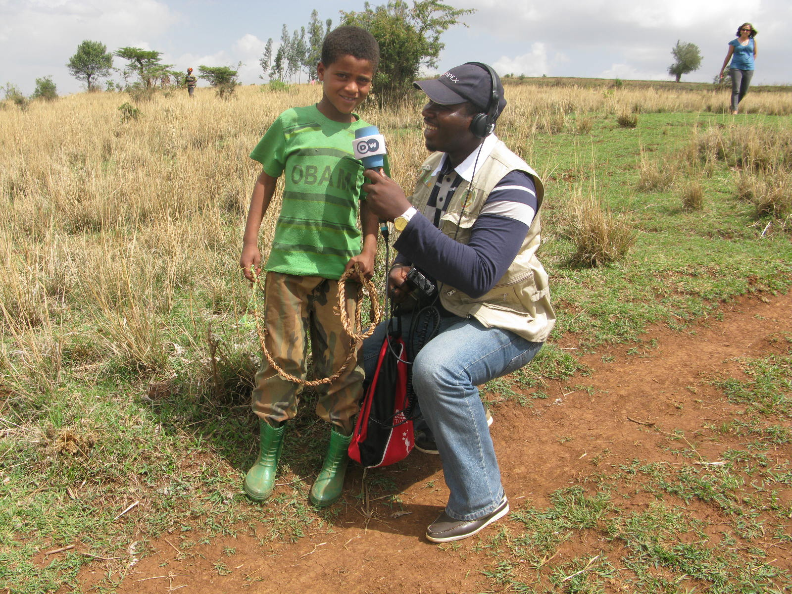 Journalism of farming in Ethiopia