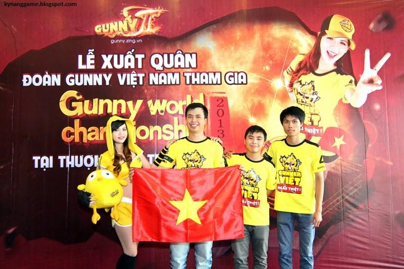 Đội tuyển Việt Nam tại Gunny World Championship 2013