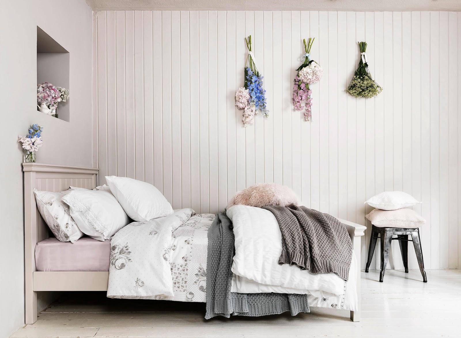 Vicky S Home Una Alternativa A La Pintura O Papel Pintado An  ~ Papel Pintado Dormitorio Blanco