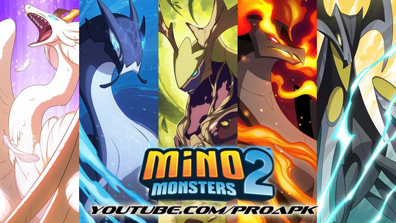 Mino Monsters 2: Evolution Gameplay IOS / Android