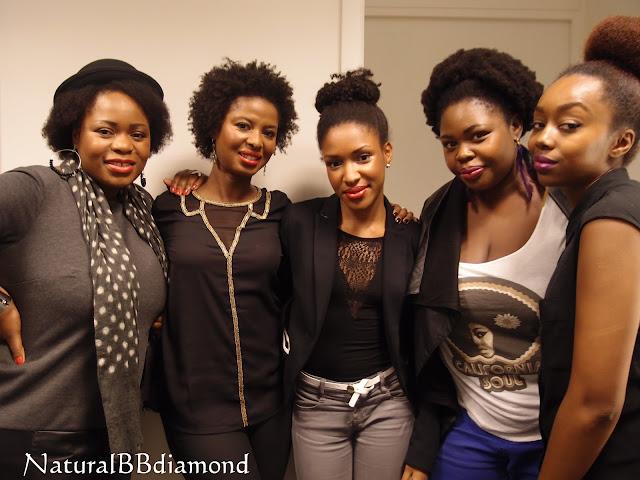 Danielle (Afrosomething), Rosianna (Révèle-toi), NaturalBBdiamond, Vanoue (les pitreries de Vanoue), Fatou (Blackbeautybag)