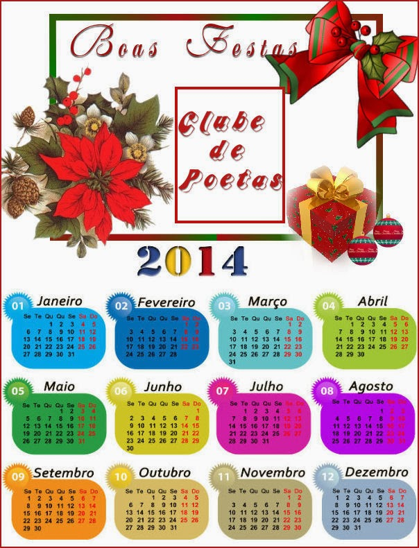 Calendário 2014
