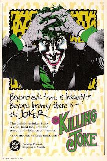 Propaganda Killing Joke, Alan Moore e Brian Bolland