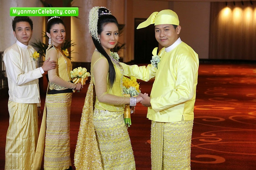Mya Hnin Yee Lwin Married To Mg Myo Thwin Myanmar Celebrity Couple picture pin.