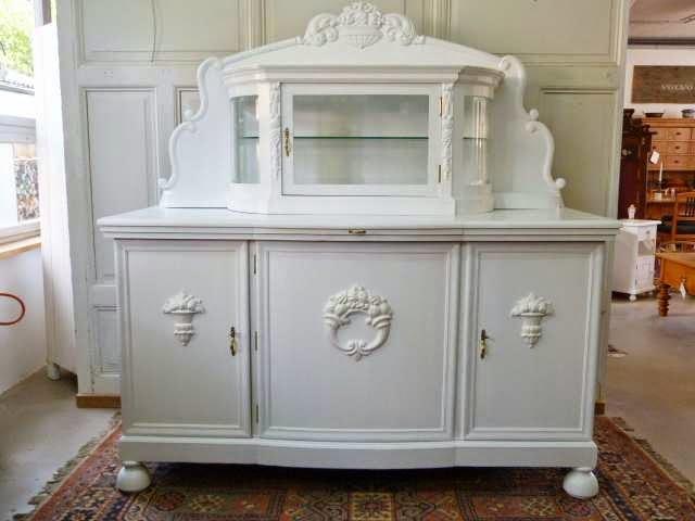 Weiße Antike Möbel antike möbel weißes buffet um 1920
