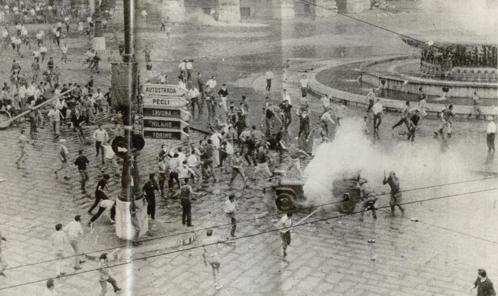 Genova 1960 - scontri