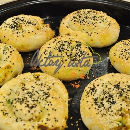 Kıymalı Patatesli Gül Böreği Tarifi