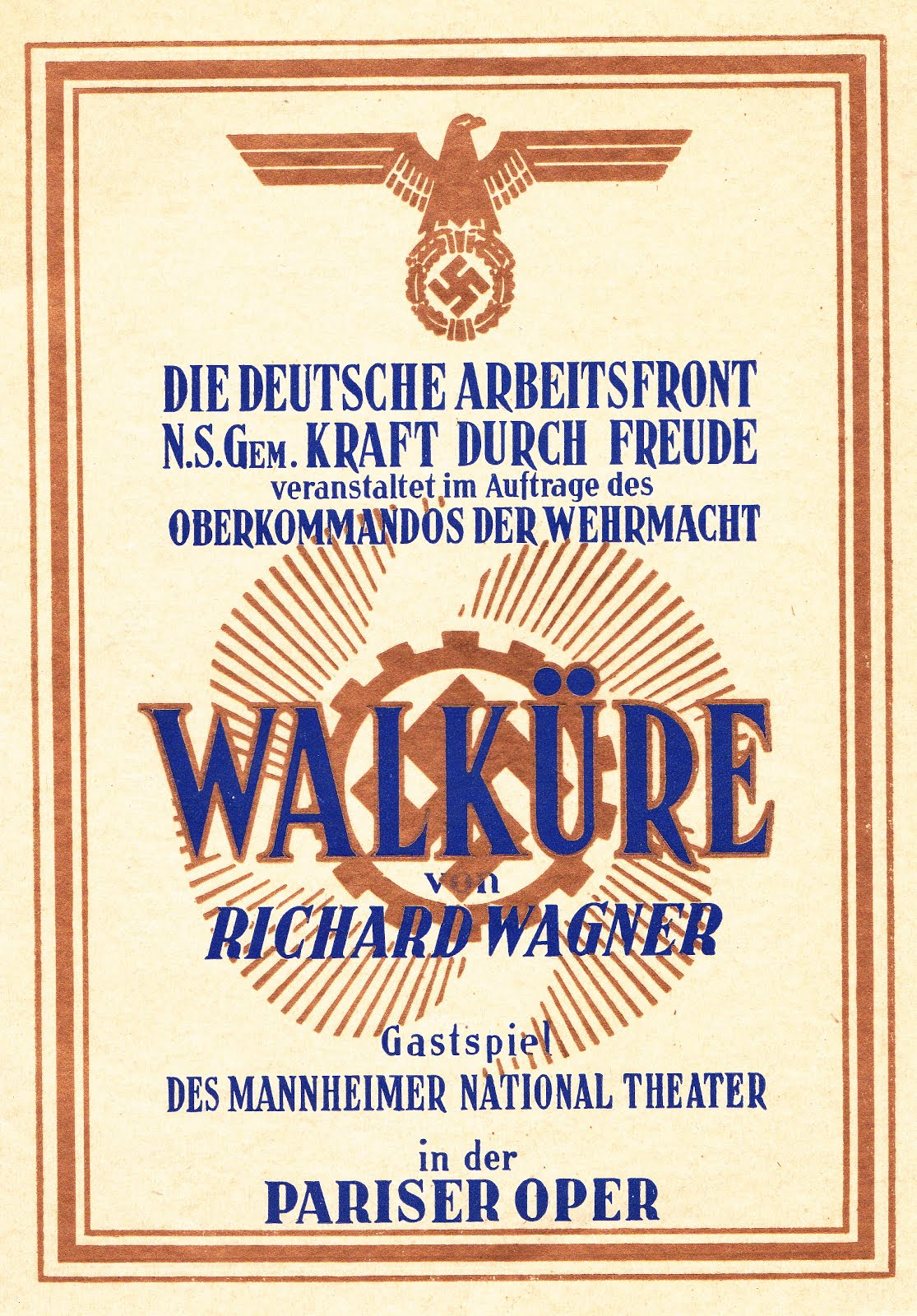 DIE WALKURE / OPERA DE PARIS