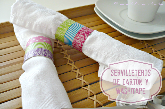 servilletero rollo cartón washitape