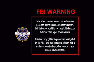 Fbi Warning desktop wallpaper