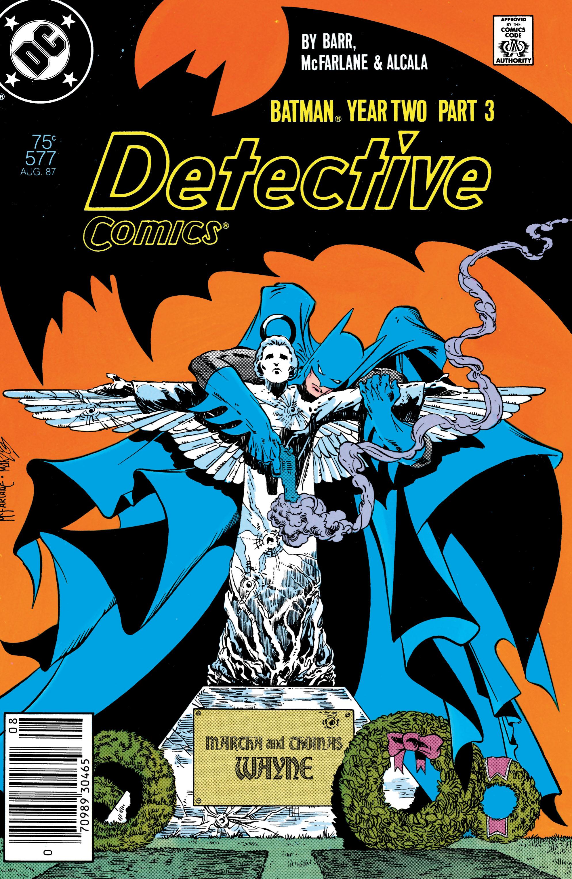 Detective Comics (1937) 577 Page 1