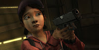 Clementine z gry The Walking Dead