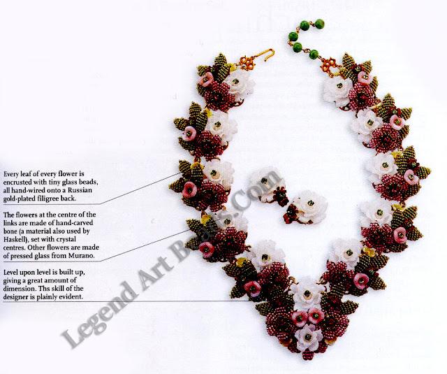 Stanley Hagler Necklace & Earring Set