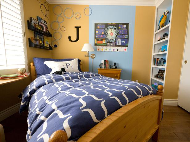 How To Decorate A Small Boys Bedroom