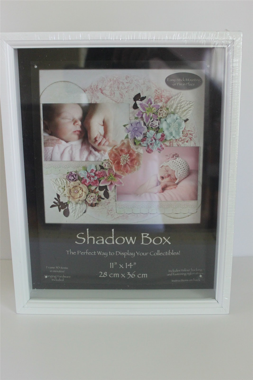 Wedding Gift Shadow Box : bought a white shadow box, you can find them at Joanns or ...