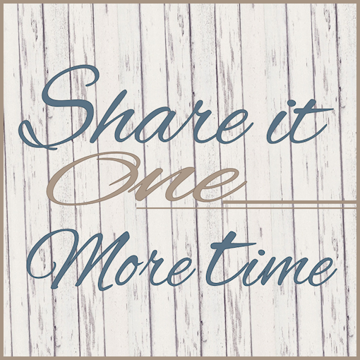 Share it One More Time Link Party and Features