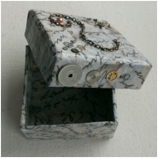 craftypainter: Steampunk trinket box