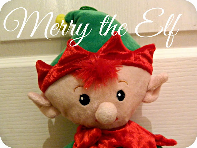 Merry Elf Christmas Shelf magic Door