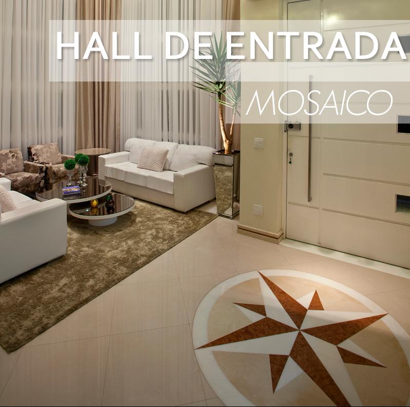 Mosaicos cl ssicos para pisos paredes veja halls de - Entradas de pisos ...