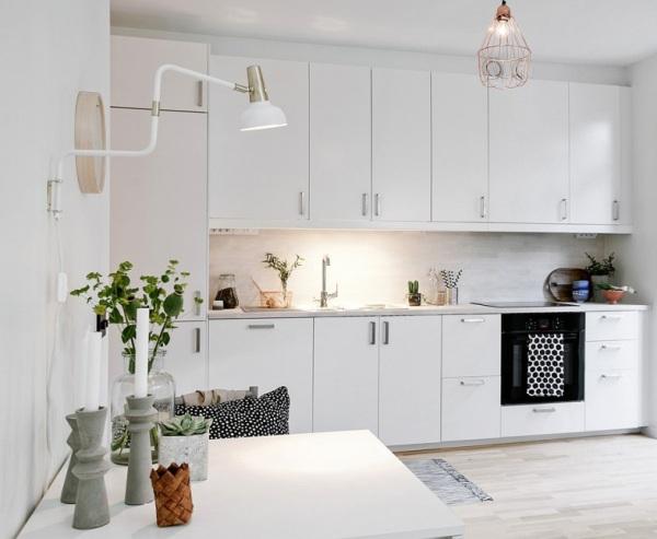 Piccoli spazi stile scandinavo versione mini 34mq con for Arredare piccoli ambienti