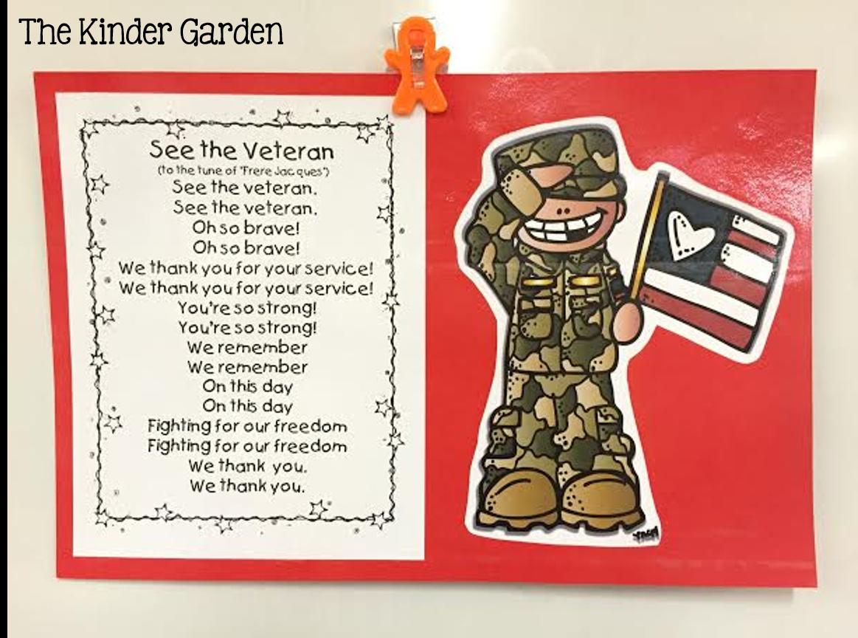Hello Sunshine: Veterans Day Activities