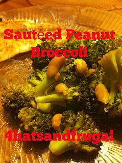 Sauteed Peanut Broccoli