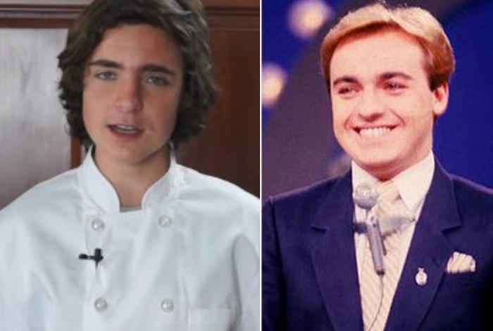 Filho de Gugu Liberato chama atenção na web pela semelhança com o pai