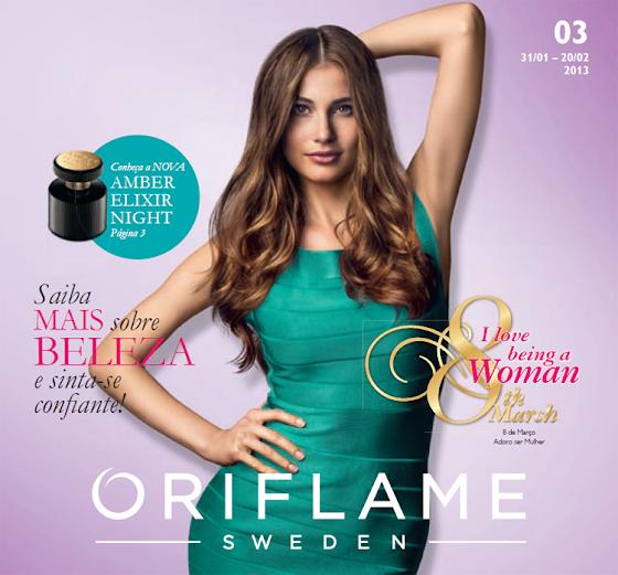 Catálogo 03 de 2013 da Oriflame