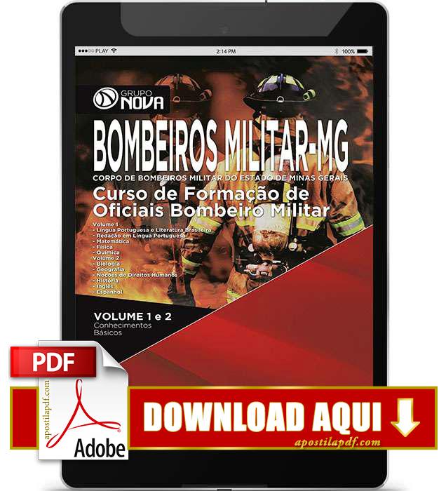 Apostila Oficial Bombeiro MG 2016 PDF Download