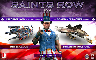 Commander In Chief Edition Announced For Saint's Row IV