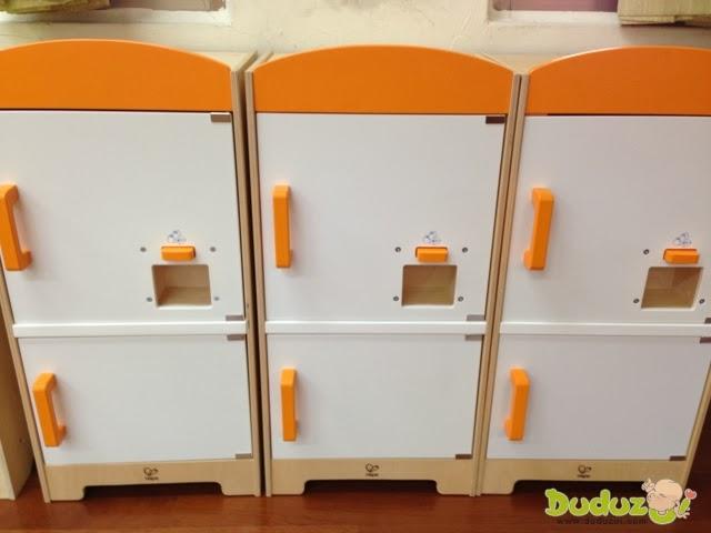 德國 Hape 愛傑卡角色扮演廚房系列 - 酷炫冰箱
