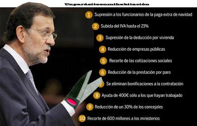 Rajoy, tijeras, recortes, politica, españa