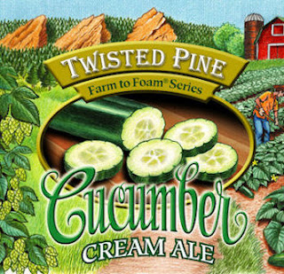 Twisted Pine Cucumber Cream Ale