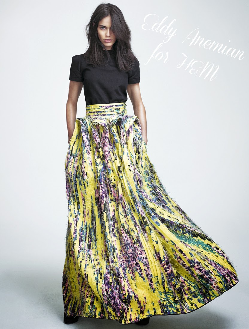 H&M, Eddy Anemian, H&M Design Award 2014, Winner, Designer,  Fashionblogger, Fashionblog, Blog, , Ontwerper, collectie, collection, Yellow Skirt, Fashion,www.LaVieFleurit.com