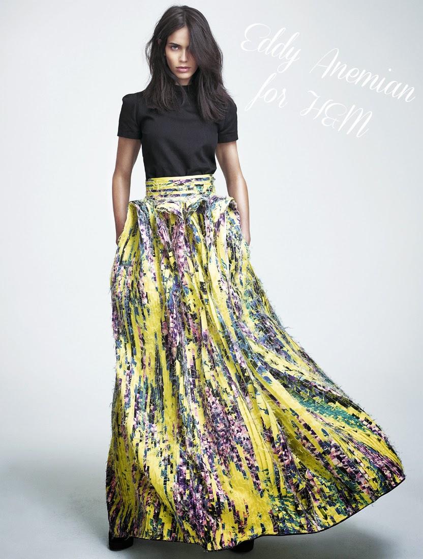 H&M, Eddy Anemian, H&M Design Award 2014, Winner, Designer,  Fashionblogger, Fashionblog, Blog, , Ontwerper, collectie, collection, Yellow Skirt, Fashion,www.LaVieFleurit.com