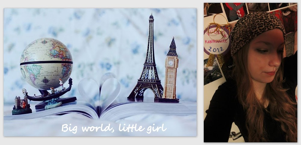 Big world, little girl