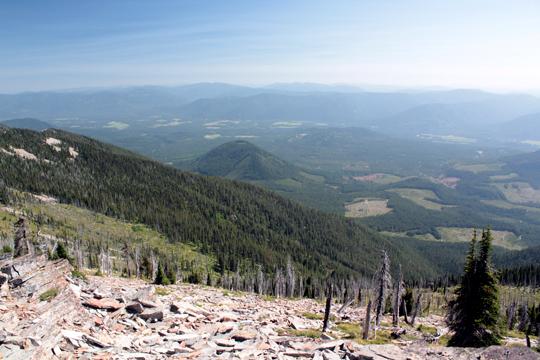 idaho hiking view