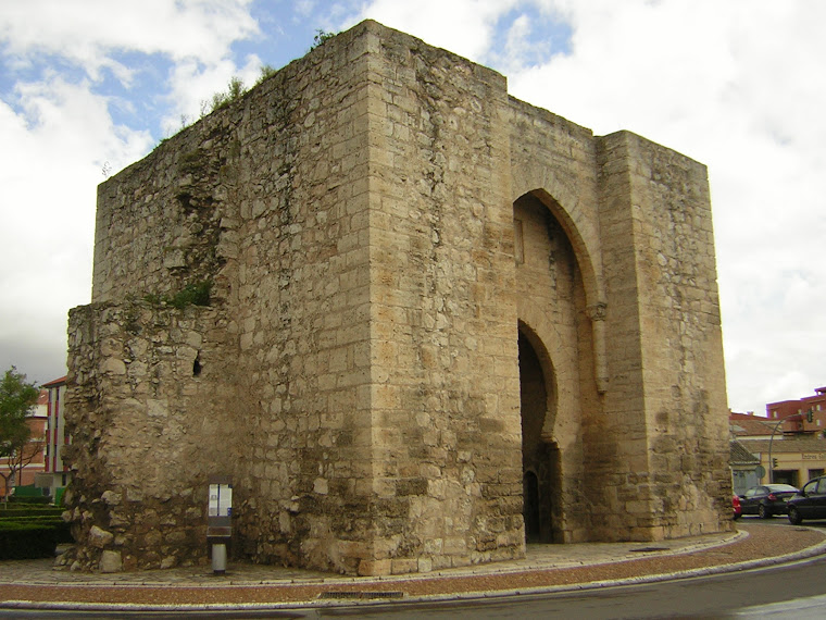 Puerta de  Toledo en Ciudad Real  España .