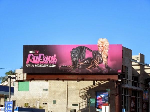 RuPaul's Drag Race season 6 extension billboard