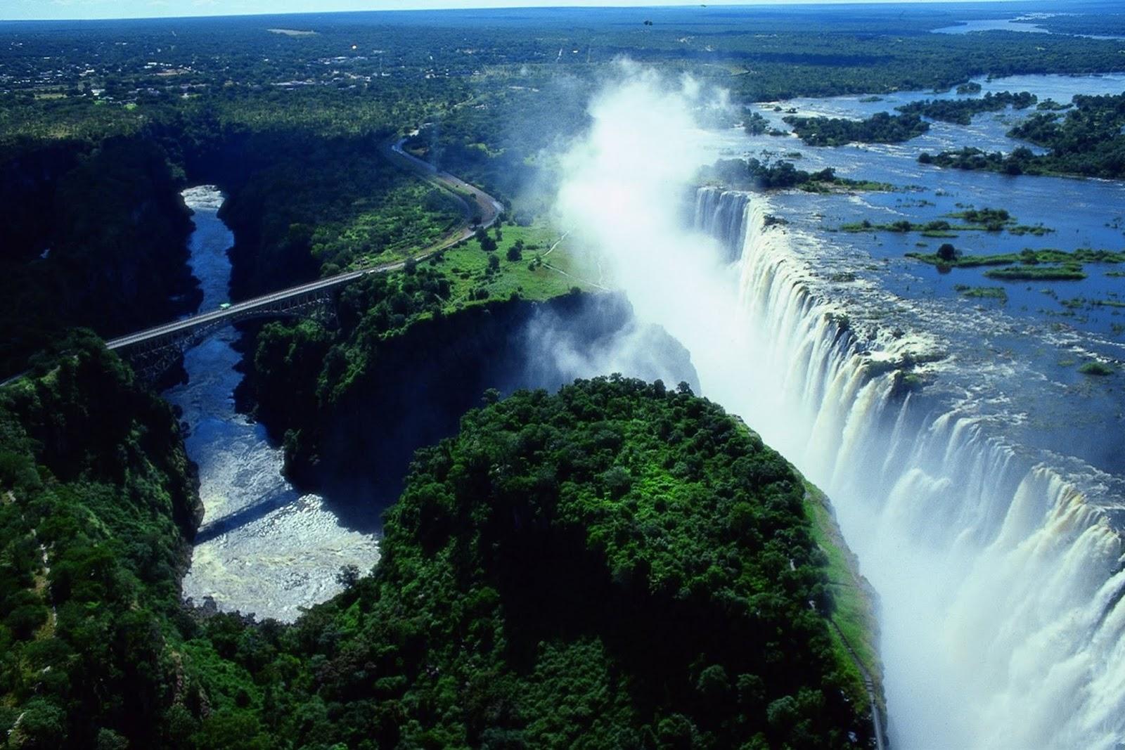 Uniqity: Menantang Adrenalin di Kolam Setan, Zambia
