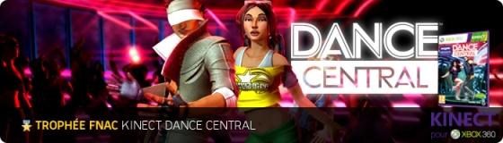 Trophée Fnac Kinect Dance Central