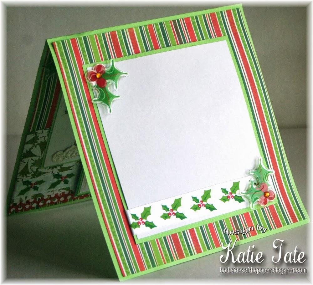 Mistletoe Border Paper - bo bunny mistletoe