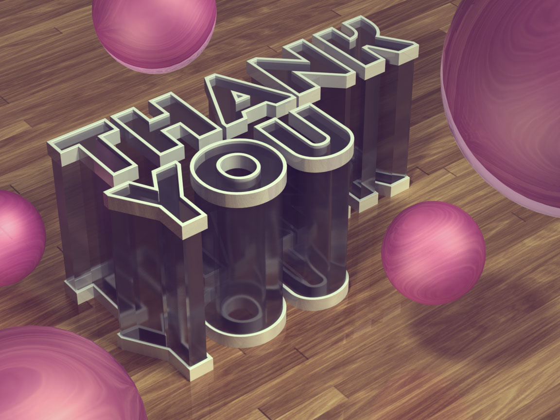 3D Thank You Pictures Full HD