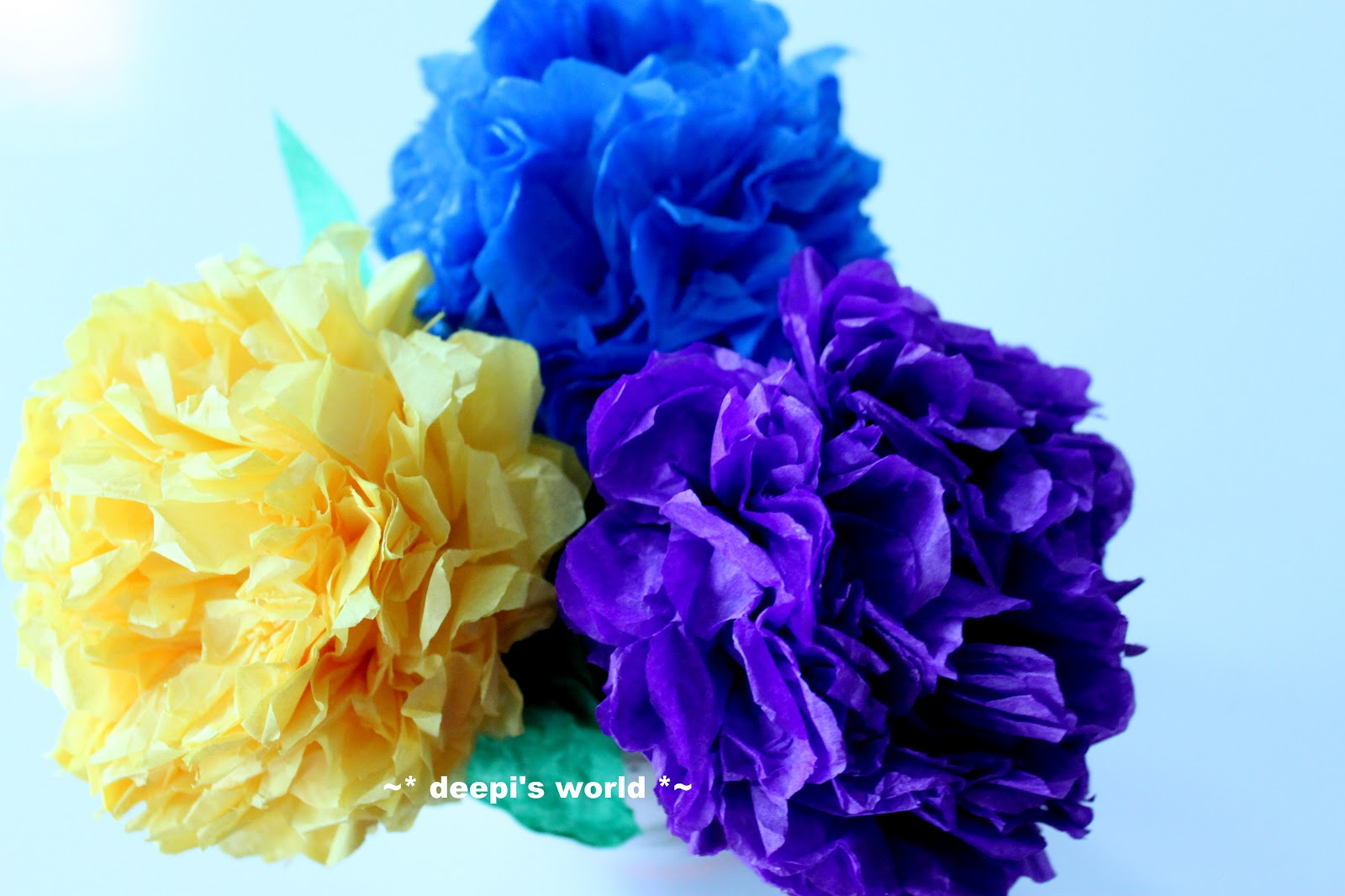 Deepis World Paper Flowers 3