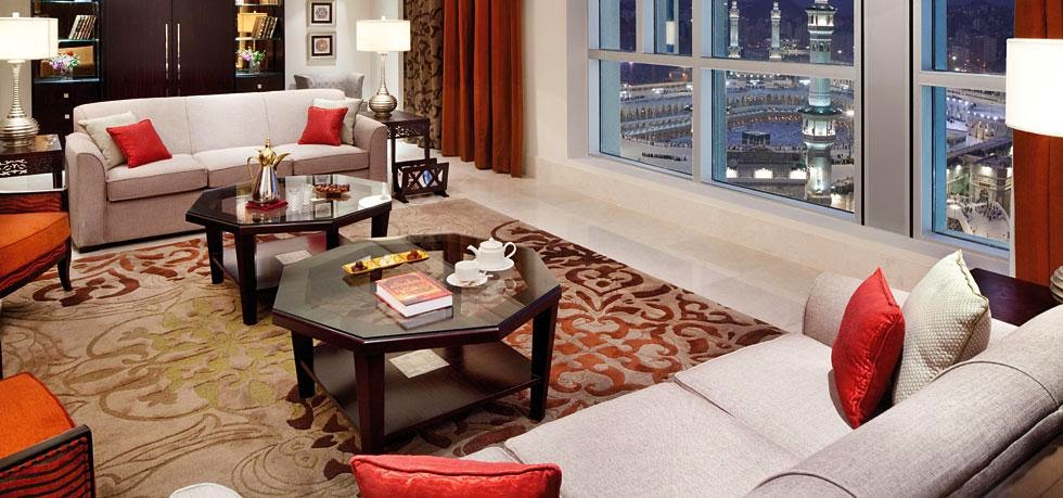 Fairmont Makkah Suite Room